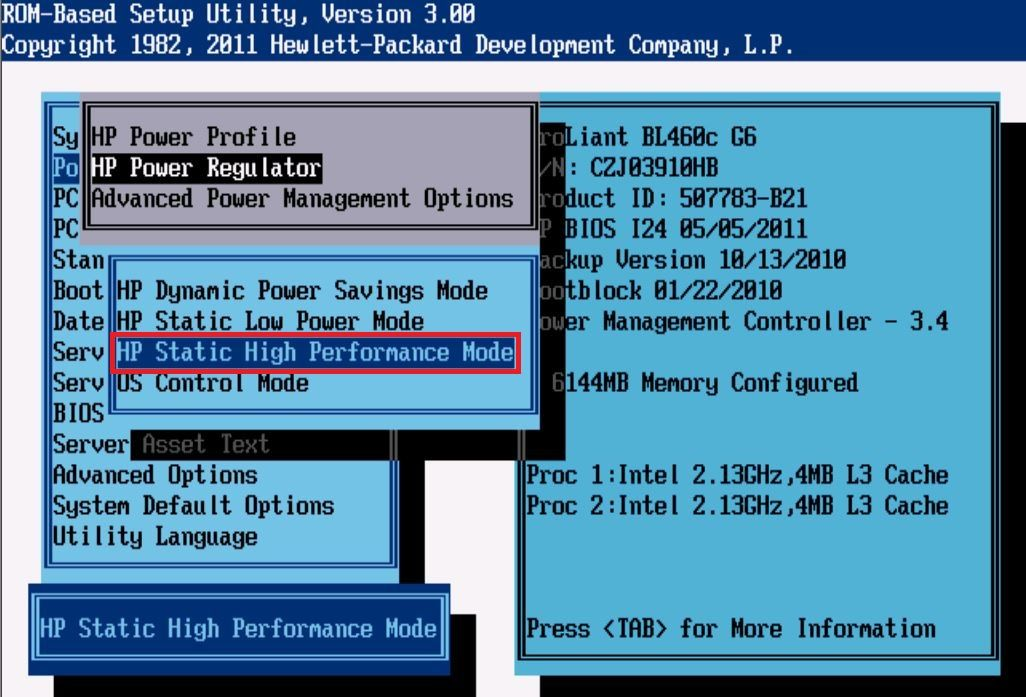 Easy ways to boost the performance of HP Proliant servers, that you might not know